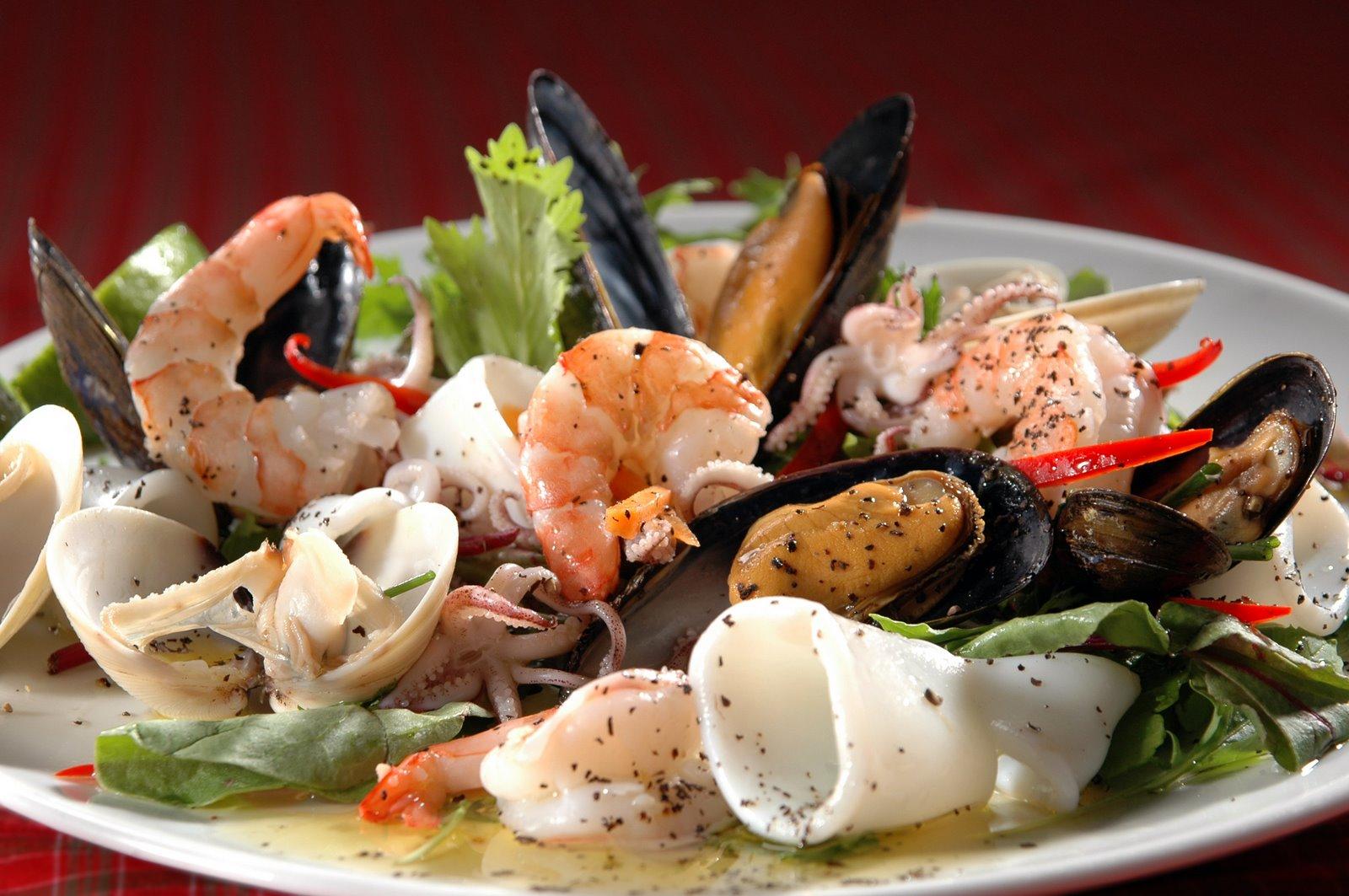 Морепродукты в итальянской кухне